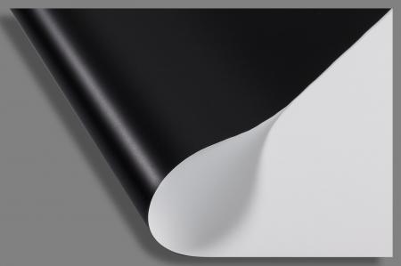 Ecran face noir et blanc